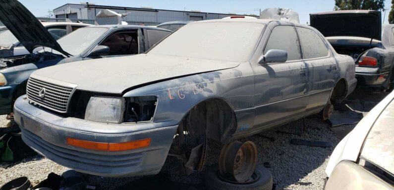1990 Lexus LS 400 Is Junkyard Treasure