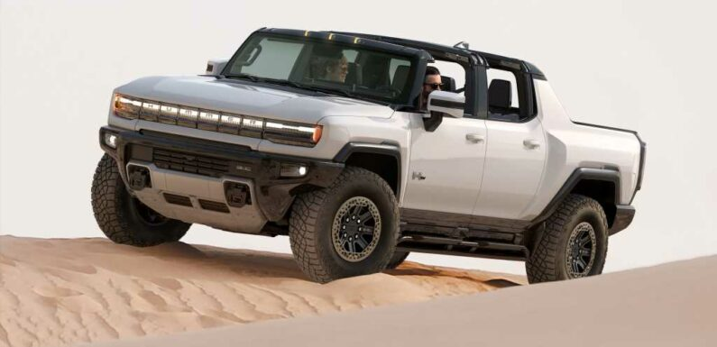 2022 GMC Hummer EV Prototype First Drive Review: Truck Yeah!