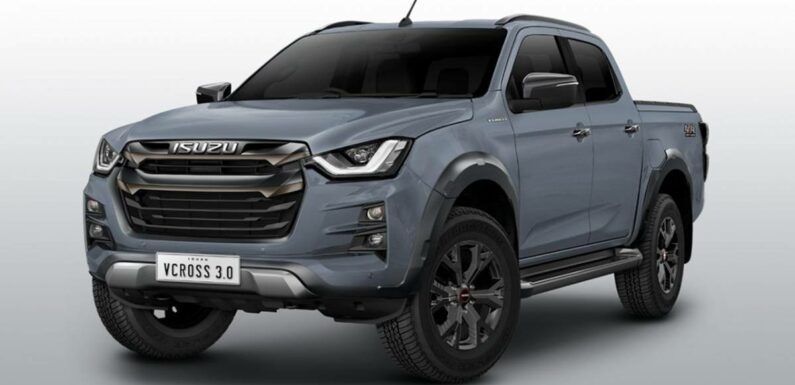 2022 Isuzu D-Max V-Cross launched in Thailand – from RM107k