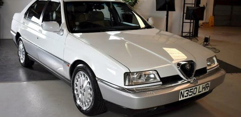 Alfa Romeo 164 Super Lusso   Spotted
