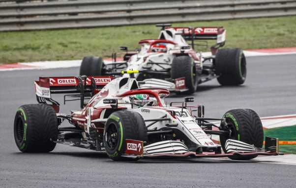Alfa Romeo confirm Antonio Giovinazzi ignored team orders at the Turkish GP