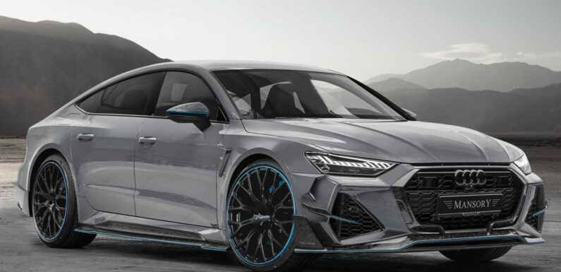 Audi RS7 Sportback Remains Gorgeous After Mansory Does Its Thing