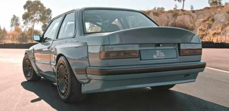 BMW 3 Series E30 With Supercharged Toyota V8 Is One Rad Build