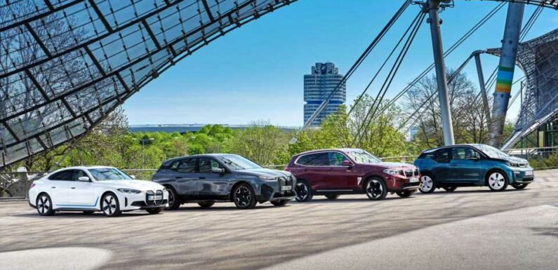 BMW Group Plug-In Car Sales In Q3 2021: Up 43%