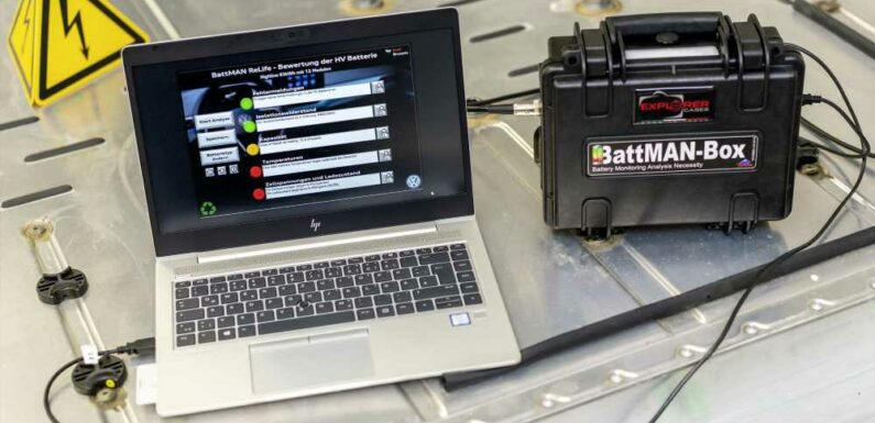BattMan Will Quickly Determine EV Battery Health