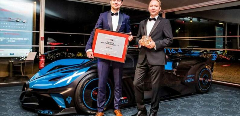 Bugatti Bolide Voted The Most Beautiful Hypercar In The World