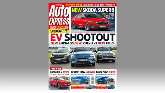 Cupra Born vs Mercedes EQA and Volvo C40 in this week's Auto Express