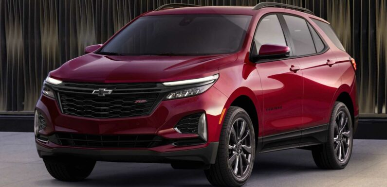GM Announces Chevy Equinox And Blazer EVs In Push To Overtake Tesla