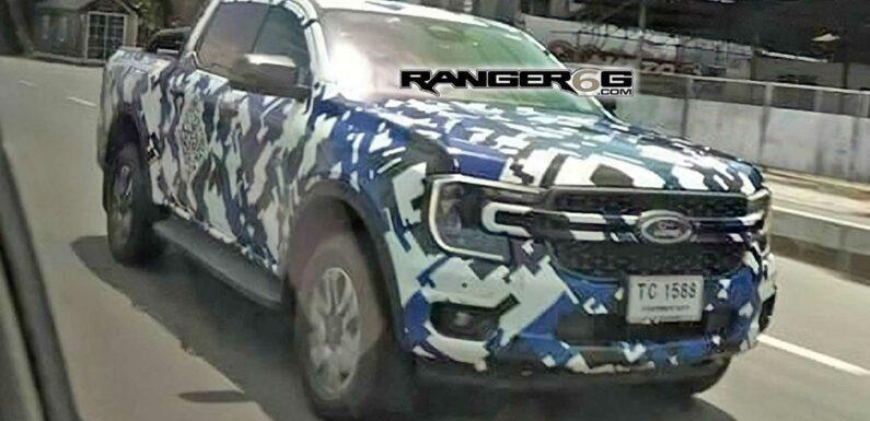 Global Ford Ranger Spy Shot Reveals Maverick-Like Front End Styling