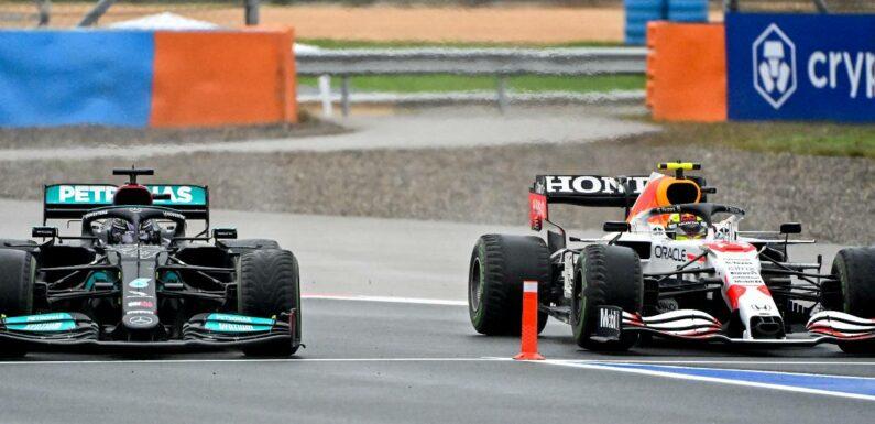 Helmut Marko: Lewis Hamilton wanted to send Sergio Perez into the pit lane