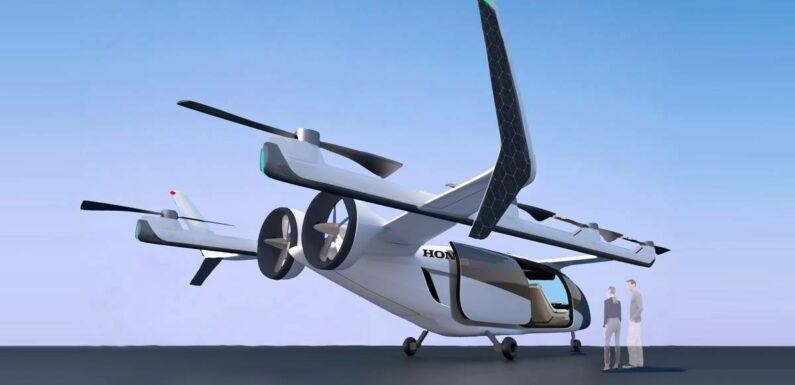 """Honda eVTOL """"flying car"""" under development – robot, lunar power source, reusable rocket also being built – paultan.org"""