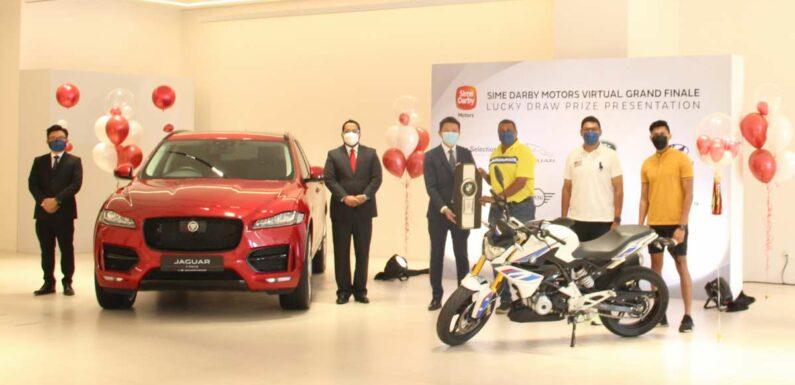 Jaguar F-Pace customer wins BMW G310R at Sime Darby Motors Virtual Grand Finale lucky draw – paultan.org