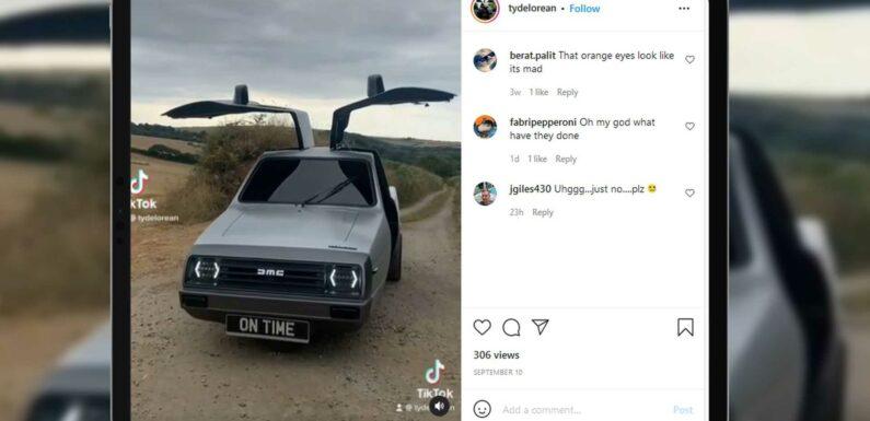 John DeLorean's Alleged Son Building Weird, 3-Wheel Version Of DMC-12