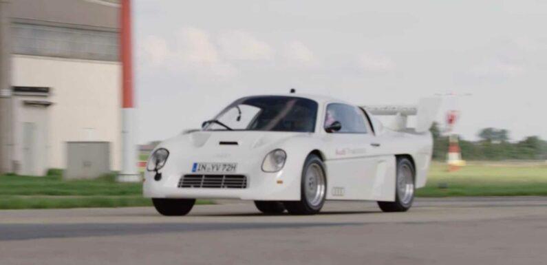 Ken Block Drives Audi's Forgotten Group S Protoype Race Car