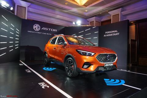 MG Astor launched at Rs. 9.78 lakh
