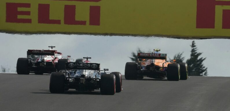 Mercedes' concerns about overtaking chances for Lewis Hamilton