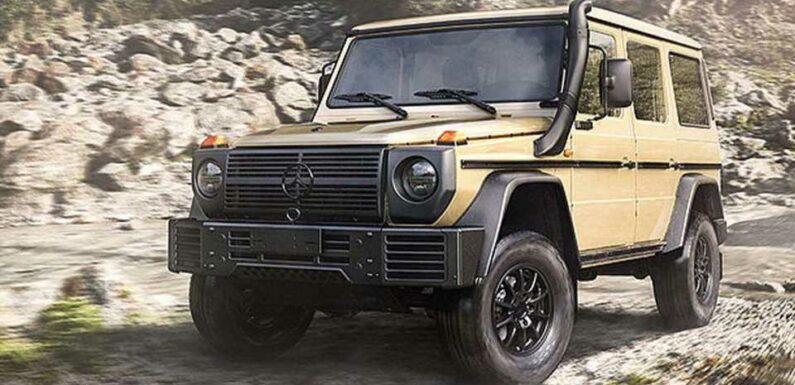 Mercedes' First New Military G-Wagen in 30 Years Keeps the Straight Axle