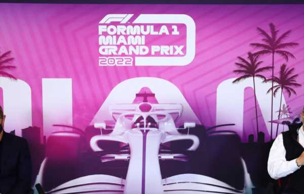 Miami GP circuit due to be completed just 45 days before the race
