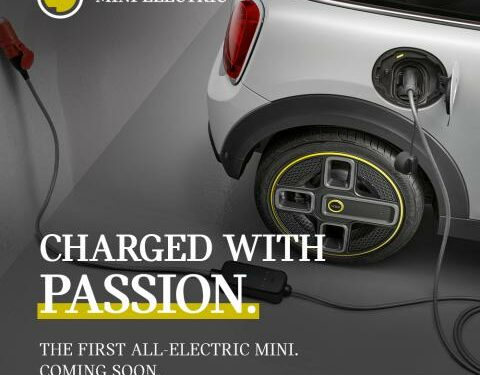 Mini Cooper Electric teased ahead of its India launch
