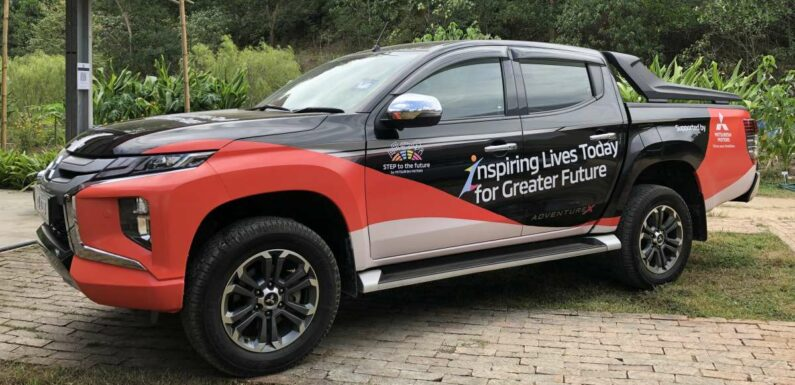Mitsubishi Motors Malaysia donates a Triton pick-up truck to Dignity Farm School as part of CSR initiative – paultan.org