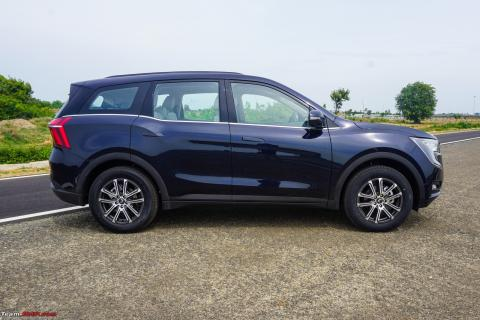 More info on the Mahindra XUV700: brake pad issue, mileage