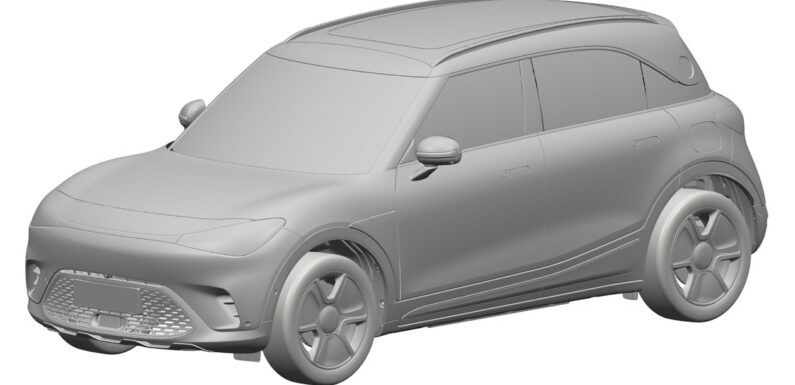 New 2023 Smart SUV design revealed in patent images