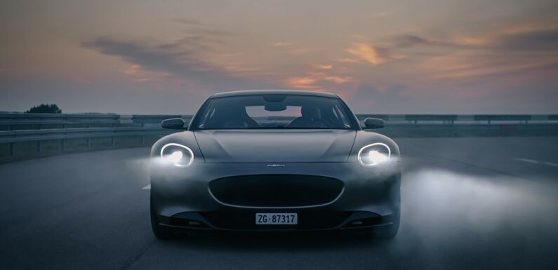 New 2024 Piech GT electric coupe enters testing with 311 mile range