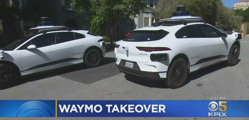 Onslaught Of Puzzled Waymo Cars Upsets San Francisco Neighborhood