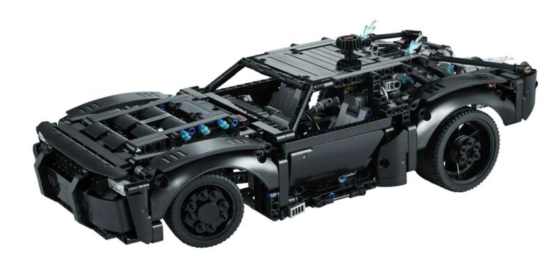 Own The New Batmobile By Building This 1,360-Piece Lego Technic Kit
