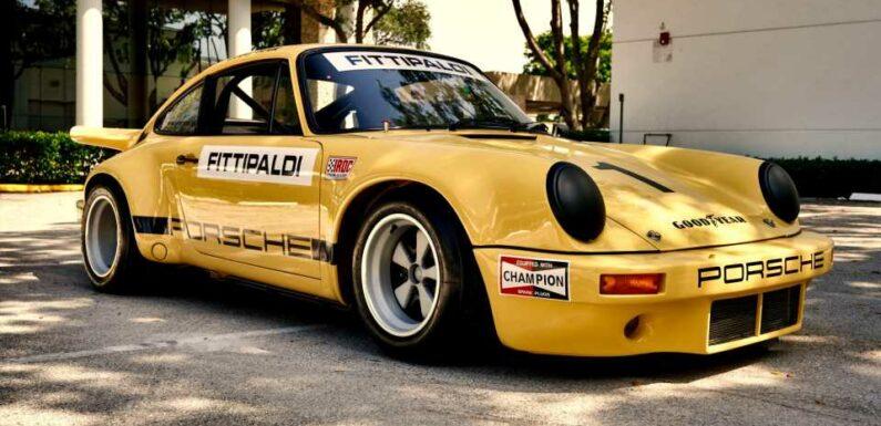 Pablo Escobar's Porsche 911 Race Car is Up For Sale
