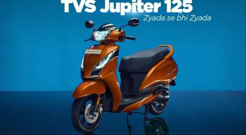 TVS Jupiter 125 launched with prices starting at Rs 73,400