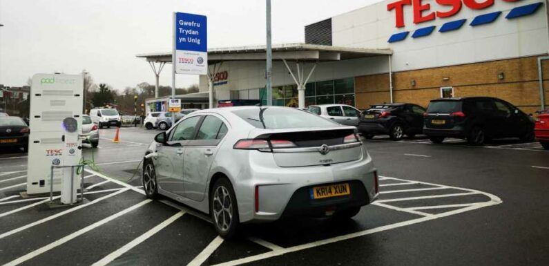 Tesco Takes Top Spot For UK Charging At Supermarkets