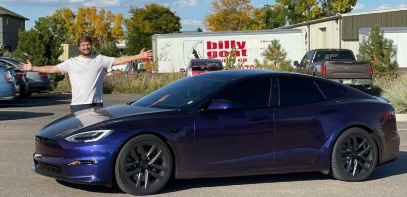The Tesla Model S Plaid Is Insane: Guess Who Finally Drove It?