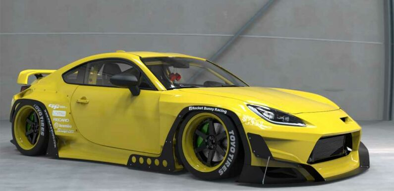 The Toyota GR 86 Gets a Rocket Bunny Makeover