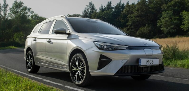 Updated MG 5 EV launched for 2022 with 249-mile range