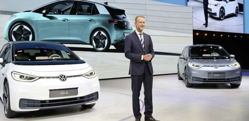 VW Admits That Tesla Is Pushing It To Speed Up Shift To EVs