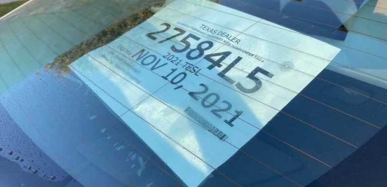 Why Texas Is the Hotbed for Illegal Temp Tags on US Roads